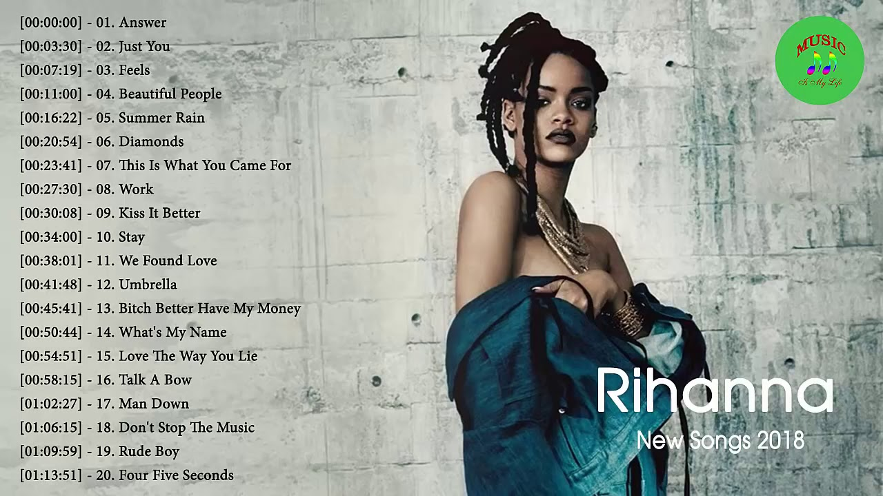 The Best of Rihanna - Rihanna Greatest Hits Full Album (HQ)