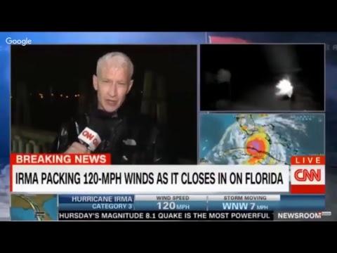 LIVE: Hurricane Irma Florida, SLAMS  Landfall, Storm Surge VIDEO footage latest updates