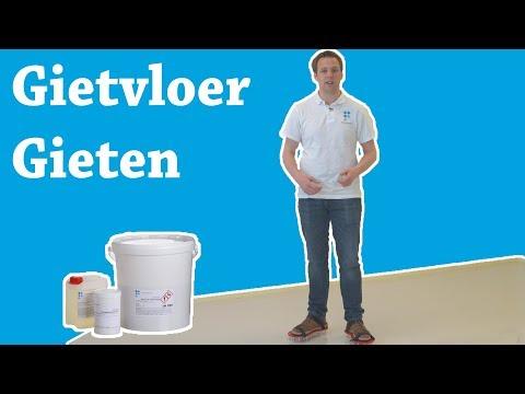 Hoe maakt u een epoxy gietvloer?