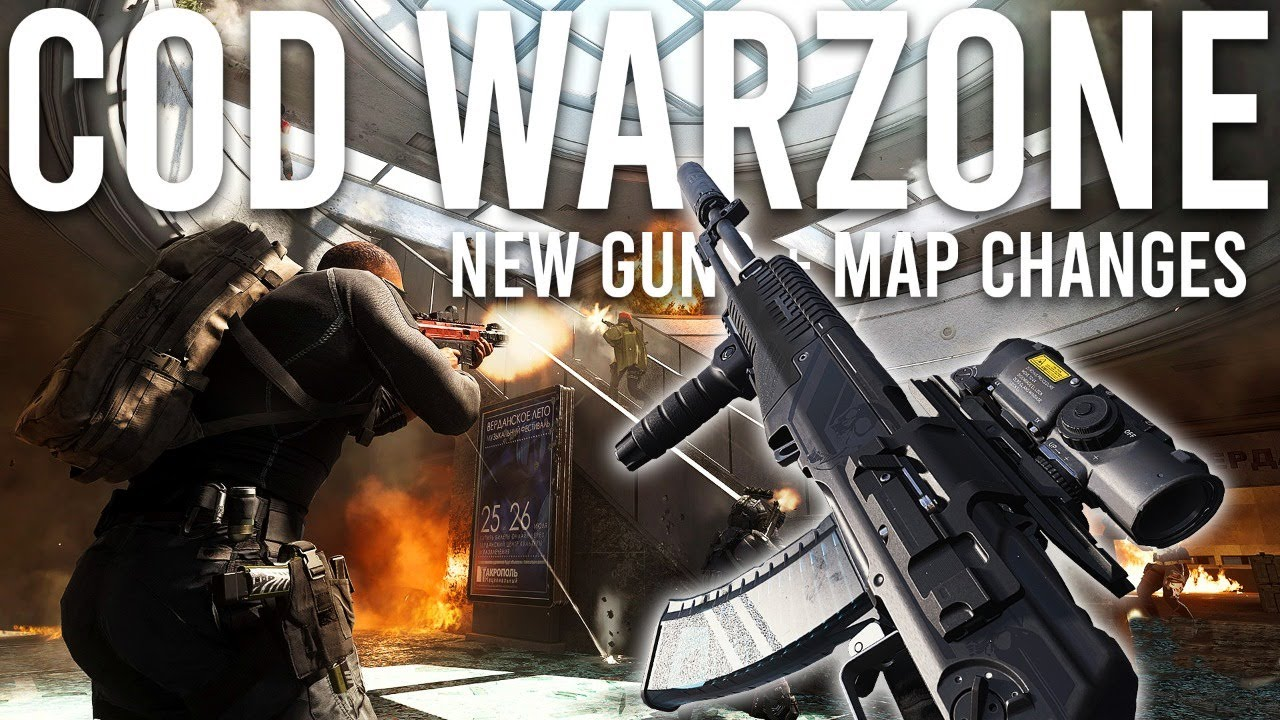 Call Of Duty Warzone New Guns Map Changes Season 5 Is Live