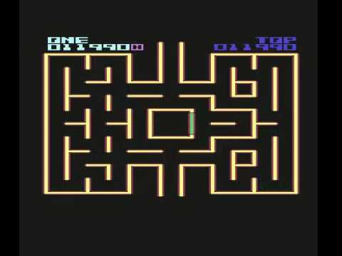 Ghost Hunter II Richwood Software C64 1986 COMMODORE 64 (pac man clone)  RETRO VIDEO GAME