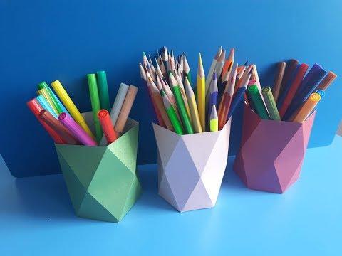 Как сделать подставку для карандашей из дерева своими руками