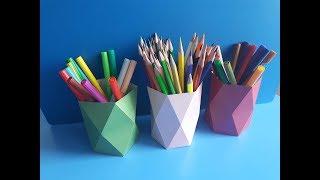 як зробити банку для олівців своїми руками