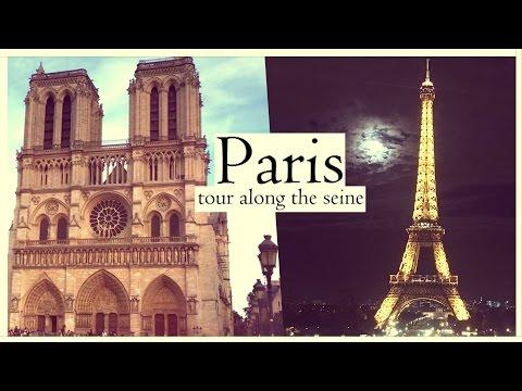 NOTRE DAME to EIFFEL TOWER   Summer evening in Paris