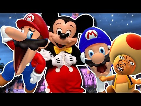 Thumbnail: SMG4: Mario goes to DIDNEY WORL