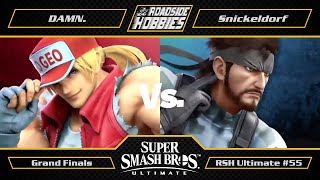 RSH Ultimate #55: DAMN. (Terry) vs Snickeldorf (Snake, Game and Watch) - Grand Finals
