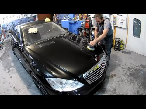 Mercedes Benz S 550  Кузовной ремонт в Армении/Body Repair In Armenia