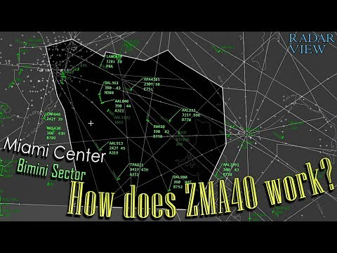How does Miami Center work? | Sector ZMA40 (Bimini)