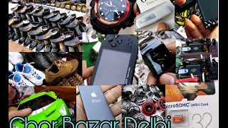 Chor Bazar Delhi | EXPOSED Smartphones #Memorycard #LED #Pendrive #Electronic #brandedshoes #laptop
