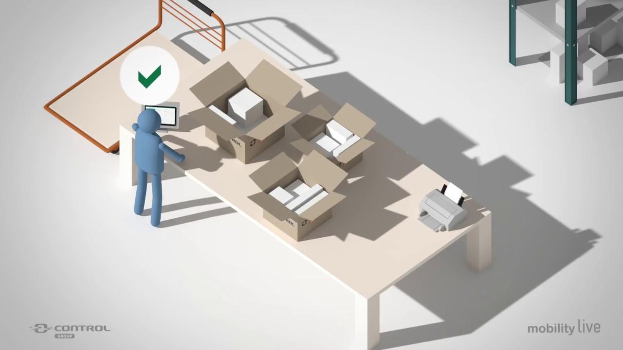 Picking almacén | Preparación de pedidos| Mobility Live SGA Picking sage 200c