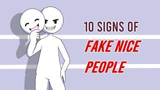 10 Signs of Fąke Nice People