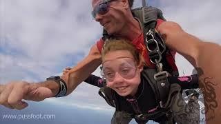 America's youngest Skydiver SuperGirl_Ryan ( Skydiving kids )