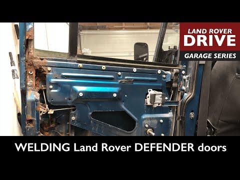 Defender door repair – WELDING Land Rover DEFENDER doors