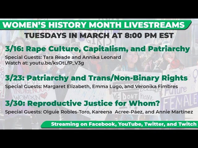 Women's History Month 2021: Patriarchy and Trans/Non-Binary Rights