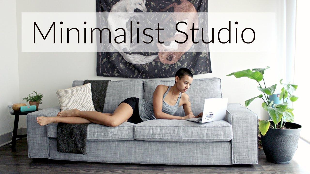 Studio Apartment Meaning minimalist studio apartment tour - youtube