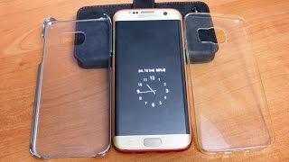 Samsung GALAXY S7 edge - po 2 měsících - krycí sklo, obaly