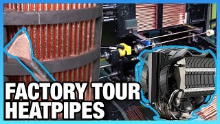 How Copper Heatpipes Are Made   China Factory Tour (Cooler Master)