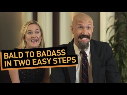 Bald to Badass in Two Easy Steps