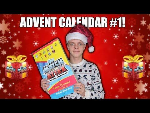 100 CLUB! Advent Calendar Opening #1 Match Attax 2017/18