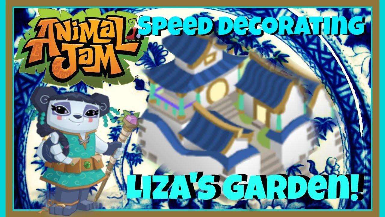 Download Animal Jam: Speed Decorating Liza's Garden!