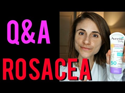 Dermatologist Q&A: ROSACEA CAUSES, CURES, & SKIN CARE  💊