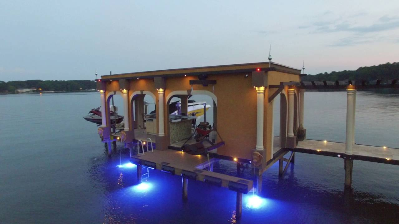 Pier Power and Lighting by Lake Norman Electric #3