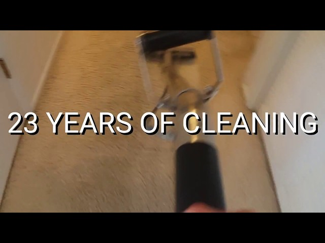 23 YEARS OF CLEANING!...and counting.