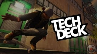 Tech Deck - iPhone/iPod Touch/iPad - Gameplay