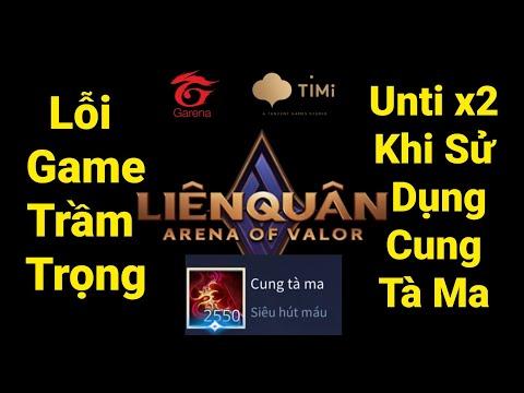 Liên Quân Mùa 16 - Tổng Hợp Các Vị Tướng Bị Lỗi Unti : Arum Veera Tulen Joker Aleister   BUG UNTI