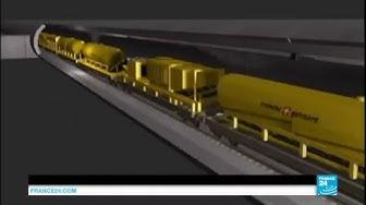 La Suisse inaugure le tunnel du St Gothard, le plus long tunnel ferroviaire du monde