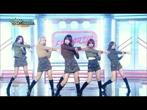 뮤직뱅크 Music Bank - 여자친구 - 바람의 노래&FINGERTIP (GFRIEND - Hear The Wind Sing&FINGERTIP).20170317
