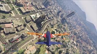 GTA 5 Emergency landing fail