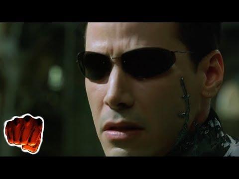 Matrix Reloaded Neo Vs Smith Türkçe Dublaj Dövüş Sahnesi 1080p (1/2)