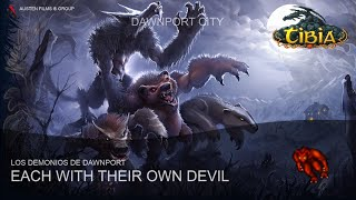"Tibia EN ESPAÑOL - ""Each with their own Devil"" (Los Demonios de Dawnport) - Dawnport. HD"