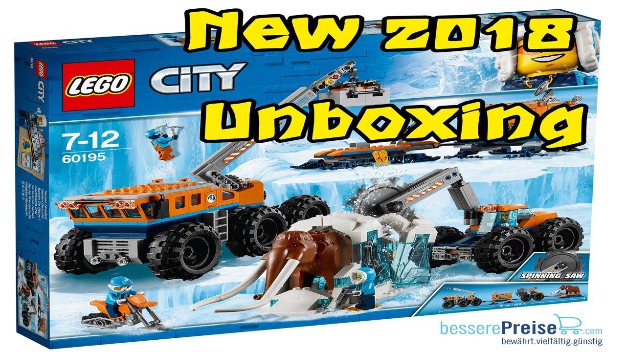 Lego 60195 Arctis Mobile Forschungsstation Der Lego City Arktis
