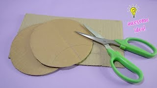 4 CLEVER WAYS TO REUSE/RECYCLE CARDBOARDS CRAFTS! Best Reuse Ideas