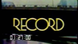 Rede Record - Encerramento de Programação - Ano  1982