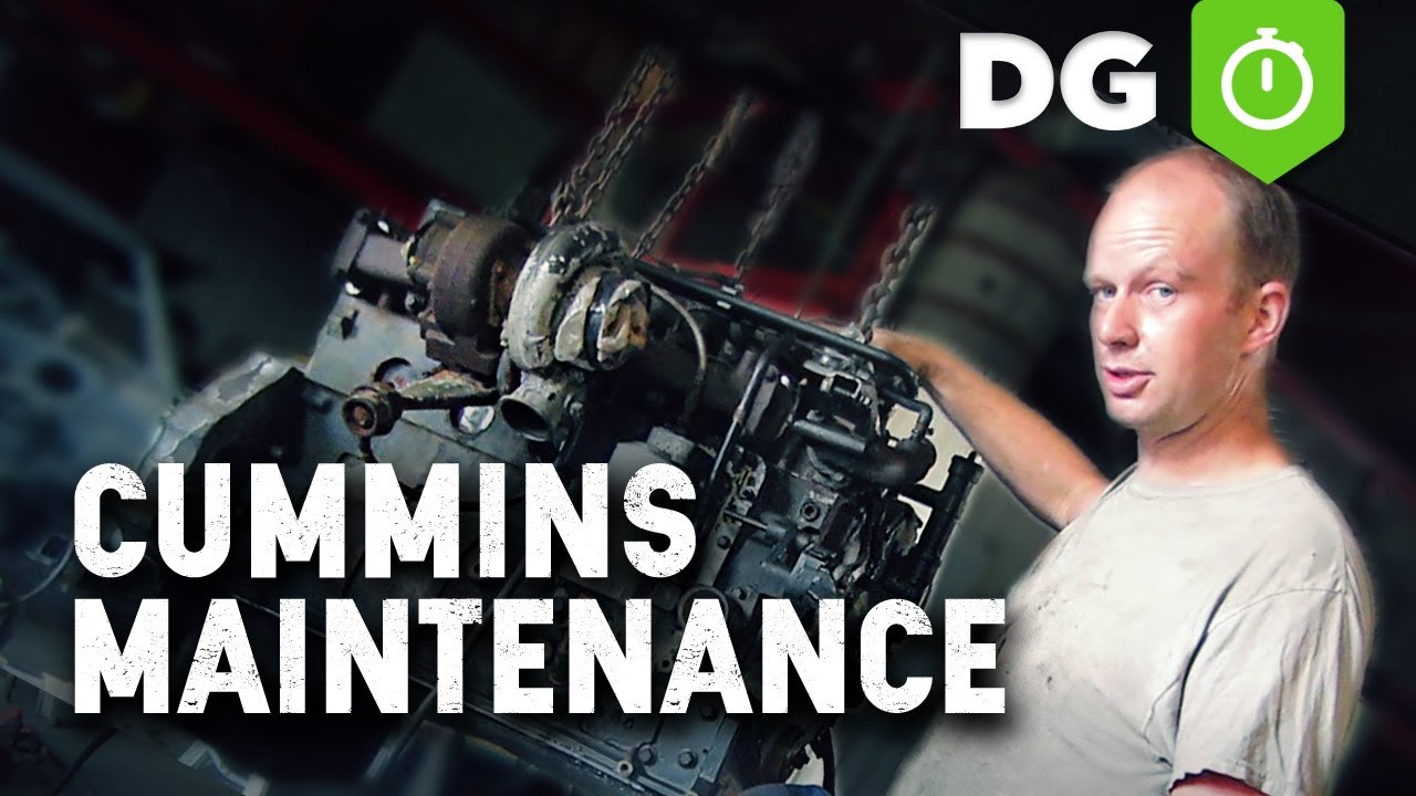 Cummins Help Regular Maintenance For A Diesel Engine Youtube Freightliner Fuel Filter