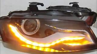 B8アウディA4ポジション部流れるLEDウインカー加工 EXR仕様 thumbnail