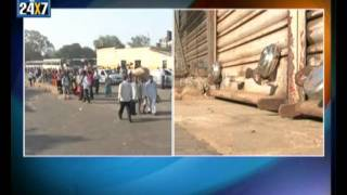 Begaumites rise stop SP's transfer Belgaum call bandh today - Suvarna news