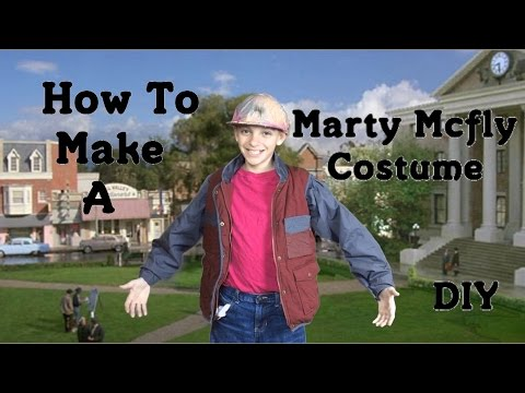 Make Marty Mcfly's Costume from BTTF 2! (DIY)