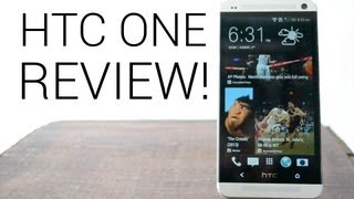 HTC One - HTC One Review!