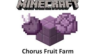 Tutorials Chorus Fruit Farming Official Minecraft Wiki Для просмотра онлайн кликните на видео ⤵. tutorials chorus fruit farming