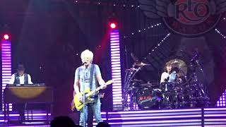 Kevin Cronin and REO Speedwagon close their show at the Ford Center...