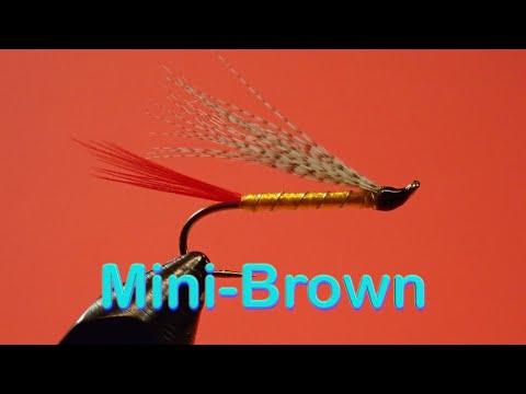 Beginner's Fly Tying Series: Easy Streamer Series - The Mini-Brown
