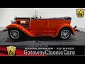 1974 Glassic Model A Phaeton Gateway Classic Cars #614 Houston Showroom