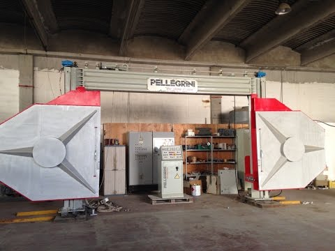 MMG Reconditioning Center - Pellegrini DF2000 Wire Saw (www.mmgservice.it)