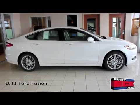 2013 fusion review from rusty eck ford in wichita ks youtube. Black Bedroom Furniture Sets. Home Design Ideas