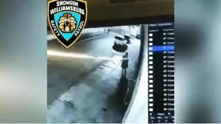 Negros africanos se pelean con un judio en nueva york