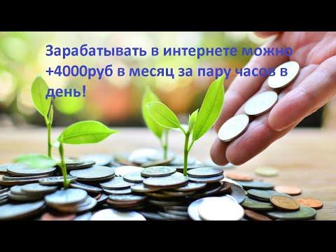 Заработок в интернете без вложений. 4000 рублей в месяц за общение. Биткоины за общение.